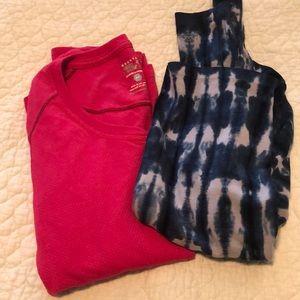Thermal/flannel shirt bundle